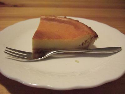 カマンベールベークドチーズケーキ