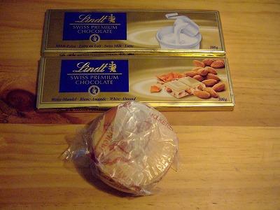 チョコレートとチーズ